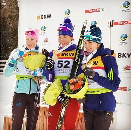 Русские биатлонисты стали вторыми наэтапе Кубка IBU