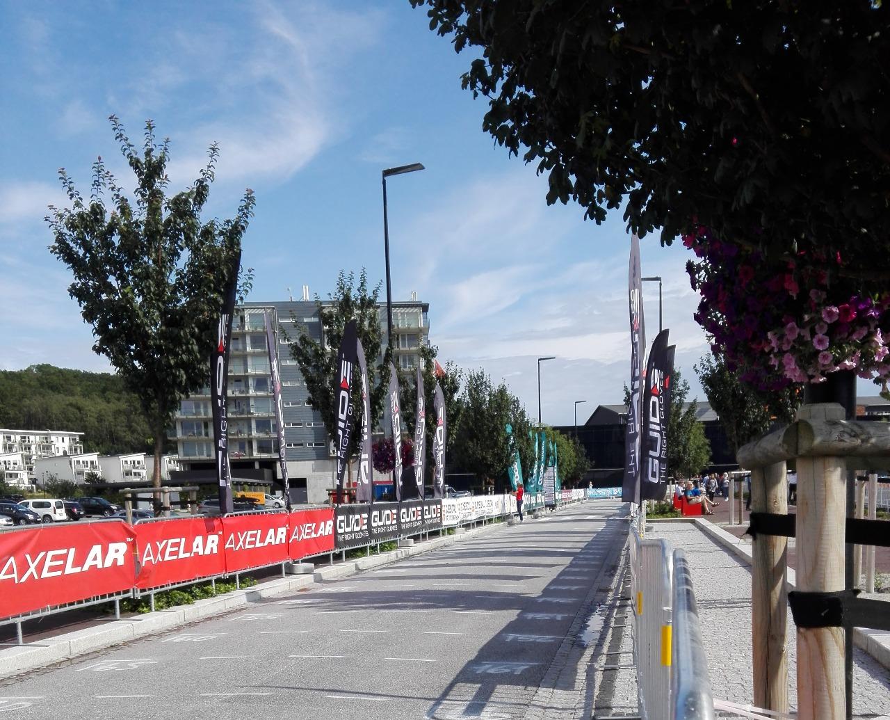 Стартовый коридор гонки на 60 км.