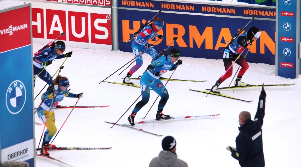 Евгения Павлова на первом этапе стартовала со второй линии.