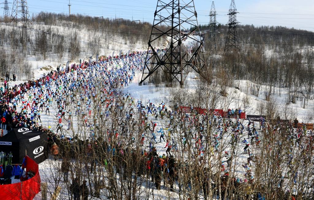 Про трассу мурманского лыжного марафона