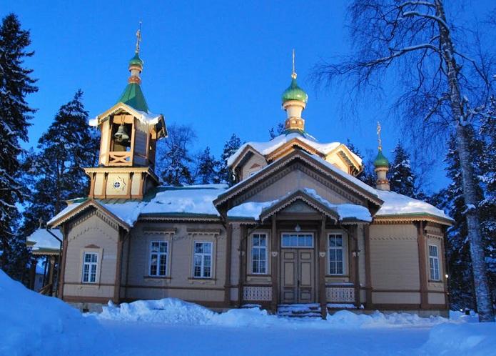 Храм Святого Николая - одна из достопримечательностей города