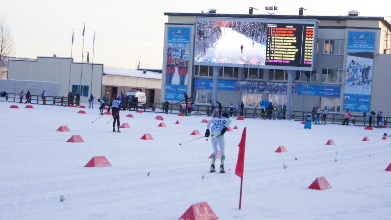 Лыжный стадион имени Раисы Сметаниной в работе.