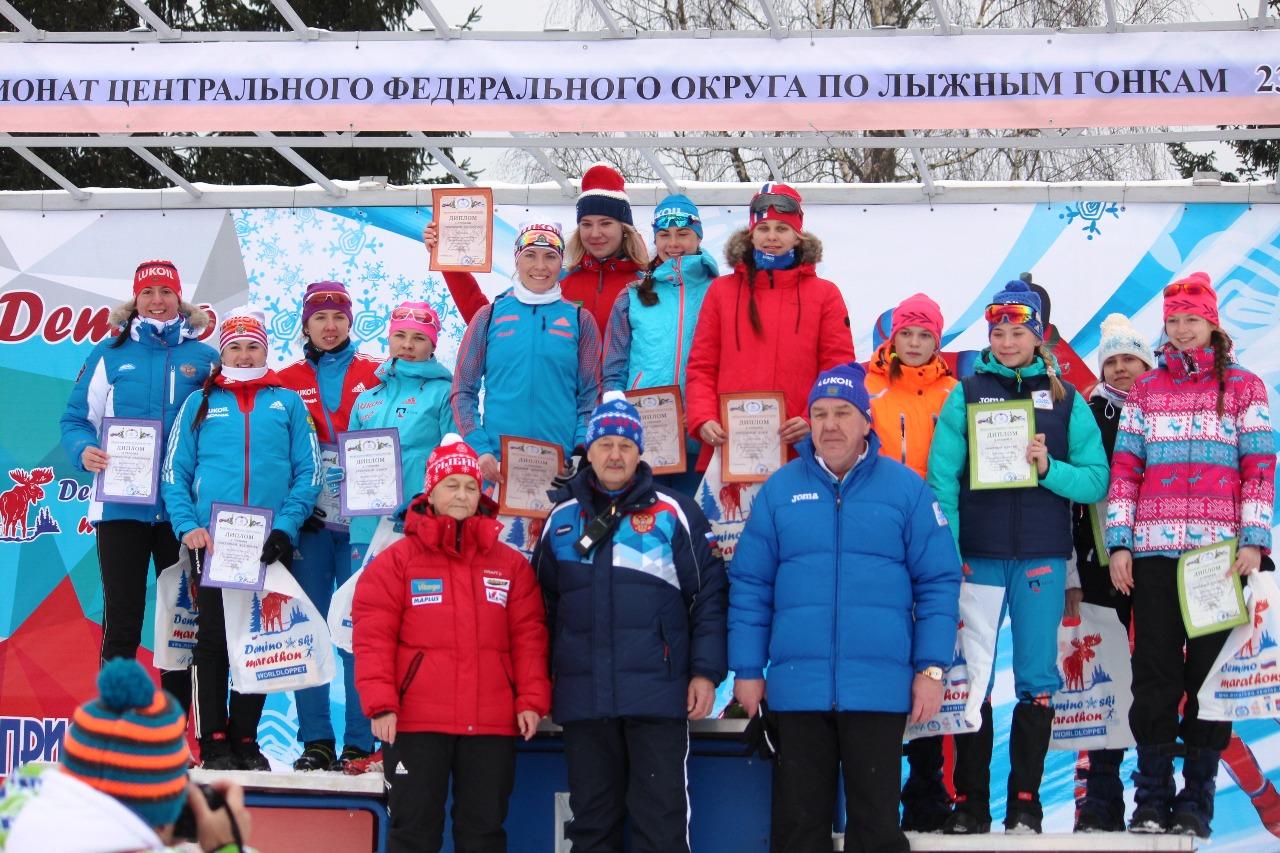 Церемония награждения женских команд
