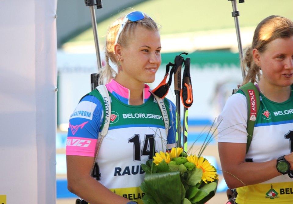 Кристина Резцова на цветочной церемонии