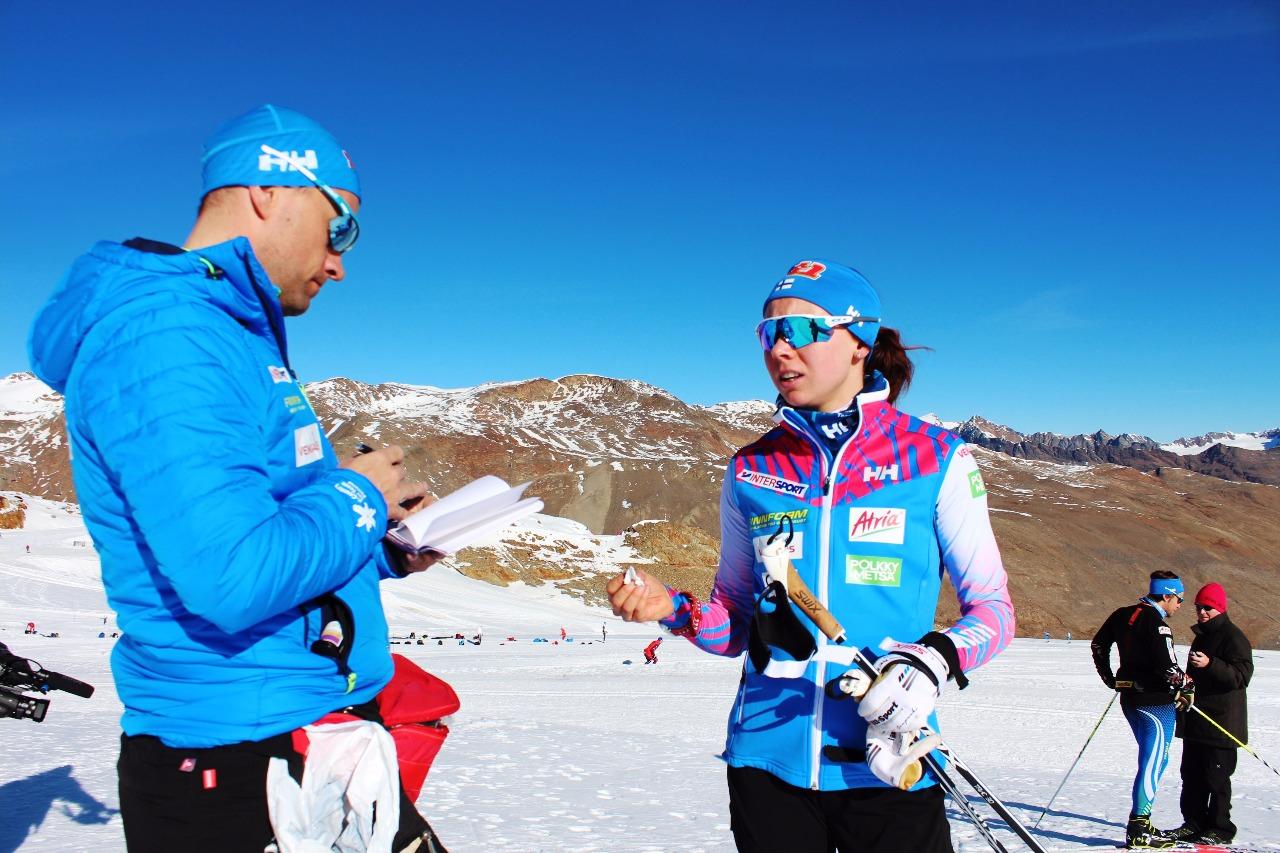 Проверяли уровень лактатов у своих спортсменов и финские специалисты.