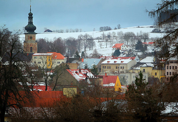 Ждяр над Сазавой - красивый чешский город