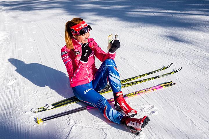 привело фото красивых лыжниц уже