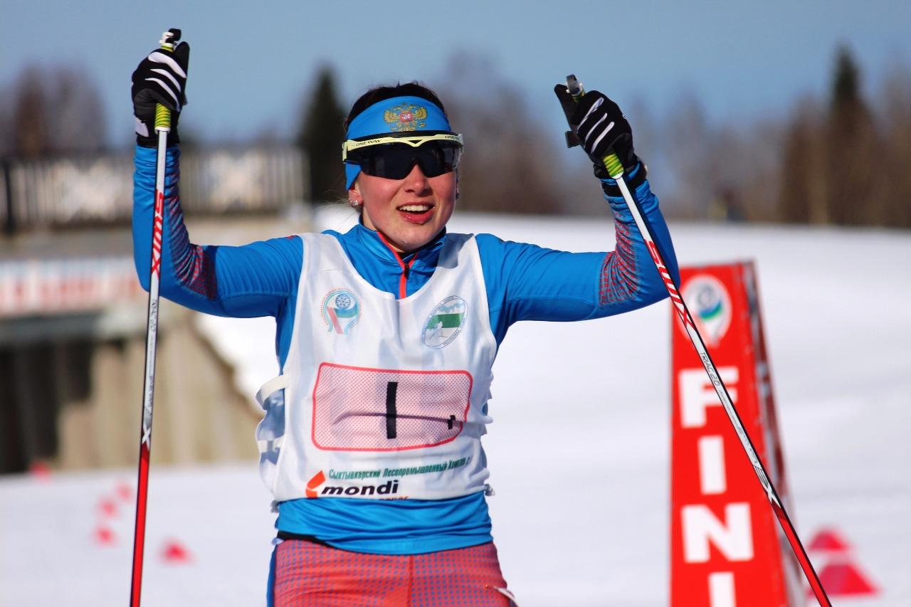 Победный финиш Елены Кучевой.