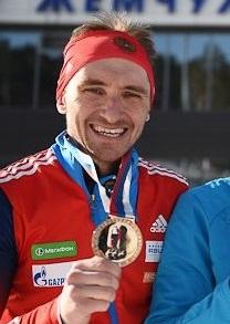 Ирина Трусова и Александр Бабчин стали обладателями Кубка России по биатлону