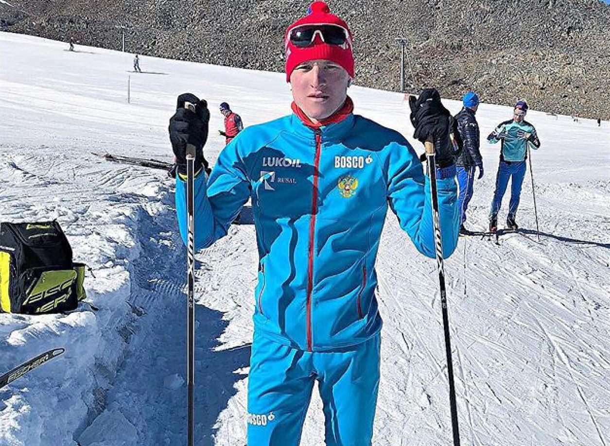 Иван Кириллов, серебряный призер спринта.