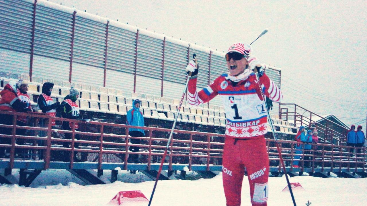 Победный финиш Алёны Барановой.