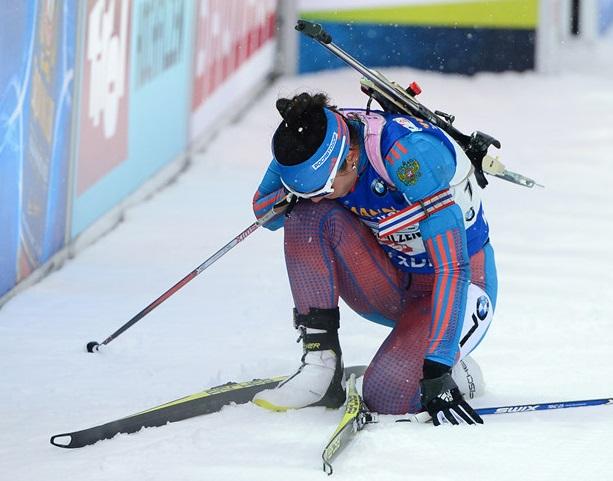Россия впервые в истории не взяла медалей в биатлоне на Олимпийских играх