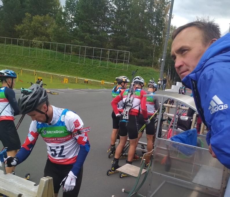Алексей Слепов, тренер Сергей Башкиров