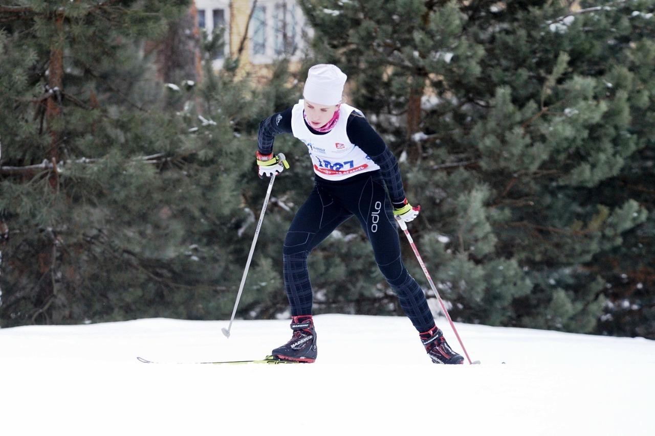28. Анастасия Уланова (Одинцовский район) - победительница этой гонки.