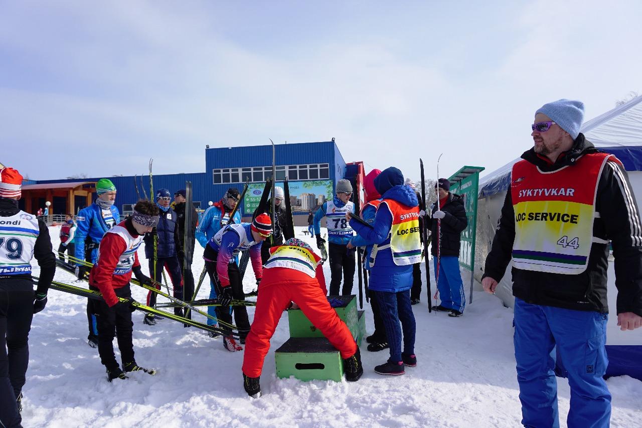 Маркировка лыж у юниоров.