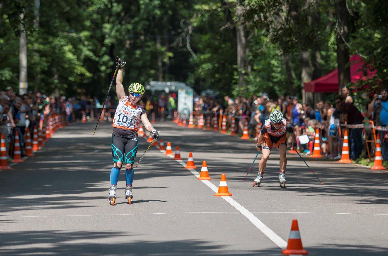 Финал А, женщин: фирменный победный взмах руки и вопль от Ольги Летучевой