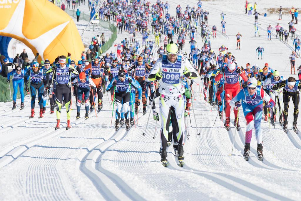 ливиньо и беговые лыжи