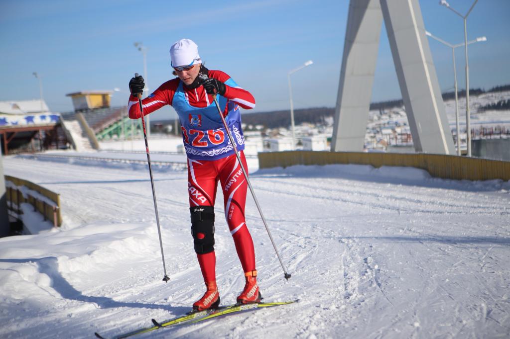 Юдакова Злата - победительница гонки среди юниорок