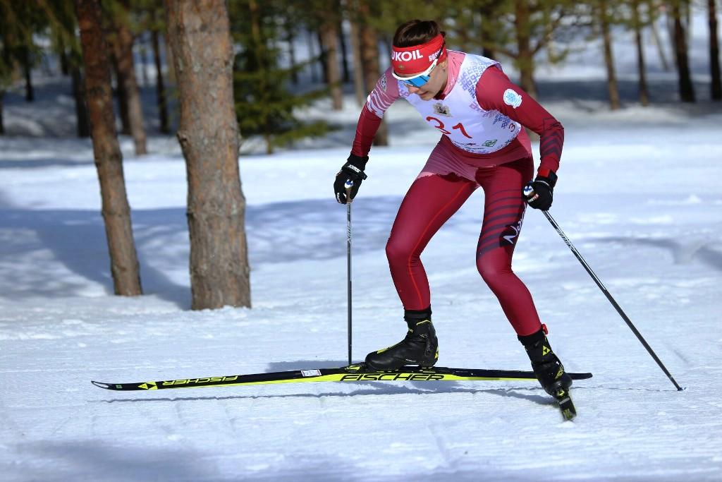 Анастасия Седова на дистанции
