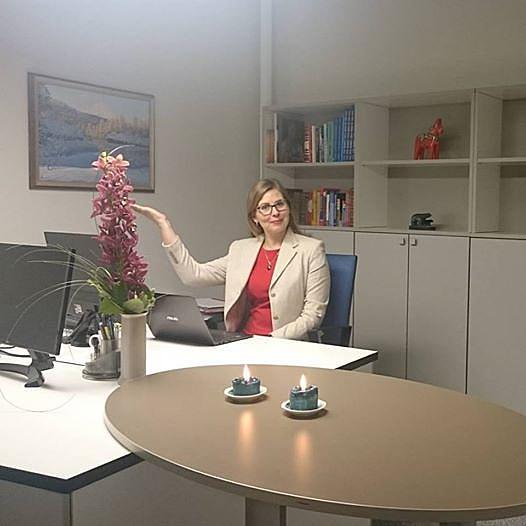 Эпп Паал на своём рабочем месте в штаб-квартире Worldloppet в Тарту.